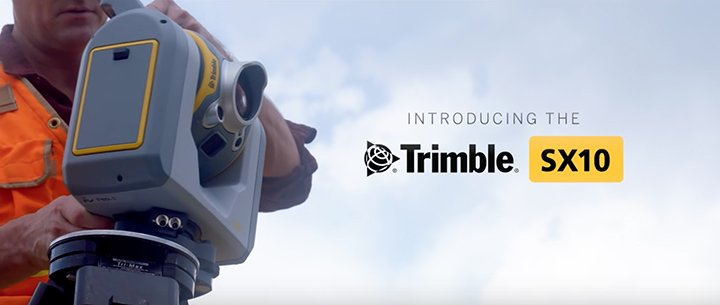 Trimble® SX10 scanning total station